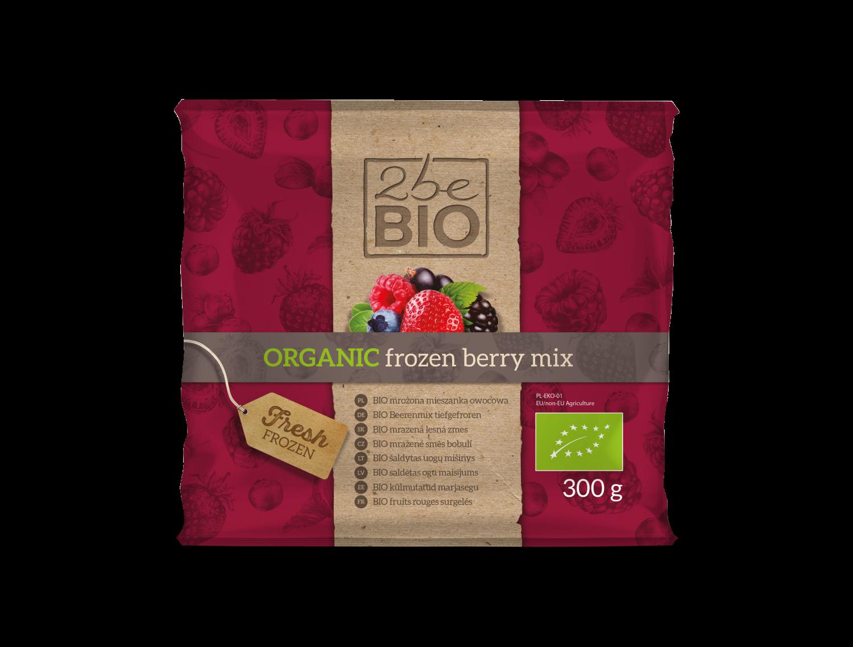 Mrożony ekologiczny berry mix