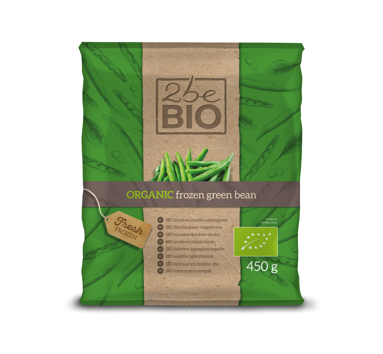 Ekologiczny mrożona fasolka szparagowa