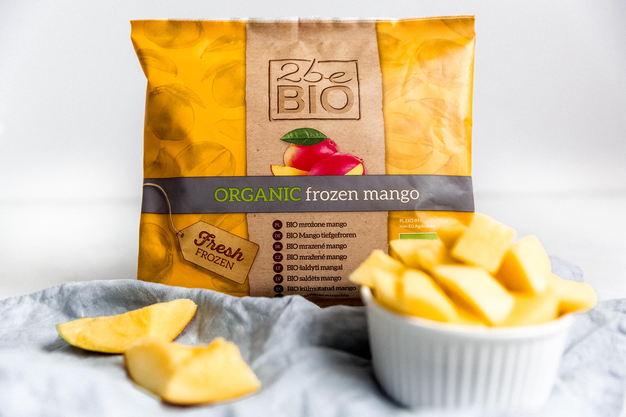 Mrożone ekologiczne mango
